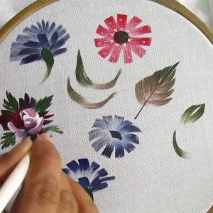 Pintura em Tecido na M-arts